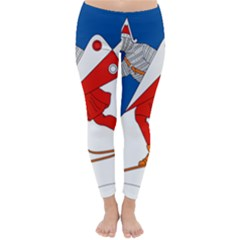 Lillehammer Coat of Arms  Classic Winter Leggings