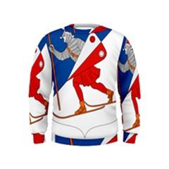 Lillehammer Coat of Arms  Kids  Sweatshirt