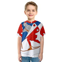 Lillehammer Coat of Arms  Kids  Sport Mesh Tee