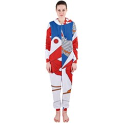 Lillehammer Coat of Arms  Hooded Jumpsuit (Ladies)