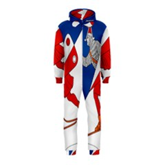 Lillehammer Coat of Arms  Hooded Jumpsuit (Kids)