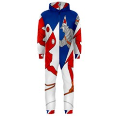 Lillehammer Coat of Arms  Hooded Jumpsuit (Men)