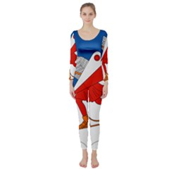 Lillehammer Coat of Arms  Long Sleeve Catsuit