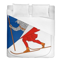 Lillehammer Coat of Arms  Duvet Cover (Full/ Double Size)