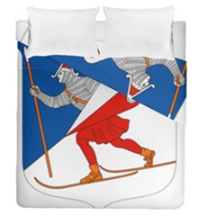 Lillehammer Coat of Arms  Duvet Cover Double Side (Queen Size)