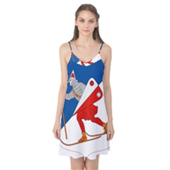 Lillehammer Coat of Arms  Camis Nightgown
