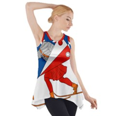 Lillehammer Coat of Arms  Side Drop Tank Tunic