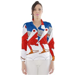 Lillehammer Coat of Arms  Wind Breaker (Women)