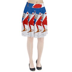 Lillehammer Coat of Arms  Pleated Skirt