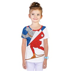 Lillehammer Coat of Arms  Kids  One Piece Tee