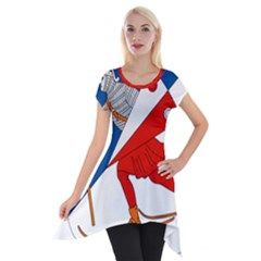 Lillehammer Coat of Arms  Short Sleeve Side Drop Tunic