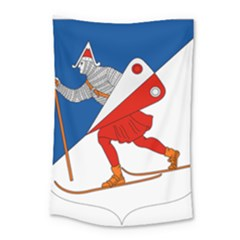 Lillehammer Coat Of Arms  Small Tapestry