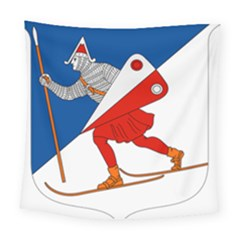 Lillehammer Coat of Arms  Square Tapestry (Large)