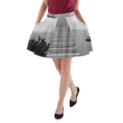 Steps to success follow A-Line Pocket Skirt