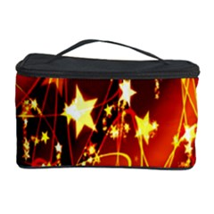 Background Pattern Lines Oval Cosmetic Storage Case
