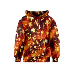 Background Pattern Lines Oval Kids  Pullover Hoodie