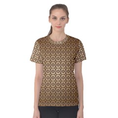 Background Seamless Repetition Women s Cotton Tee