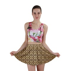 Background Seamless Repetition Mini Skirt