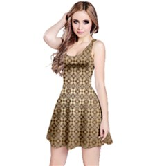 Background Seamless Repetition Reversible Sleeveless Dress