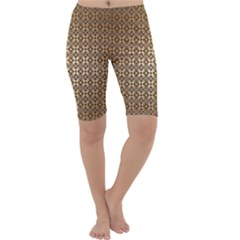 Background Seamless Repetition Cropped Leggings