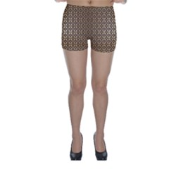 Background Seamless Repetition Skinny Shorts