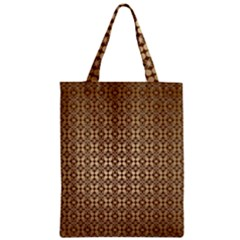 Background Seamless Repetition Zipper Classic Tote Bag
