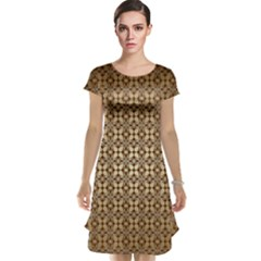 Background Seamless Repetition Cap Sleeve Nightdress