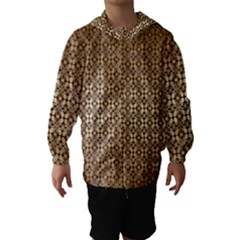 Background Seamless Repetition Hooded Wind Breaker (kids)