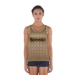 Background Seamless Repetition Women s Sport Tank Top