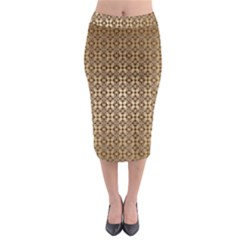 Background Seamless Repetition Midi Pencil Skirt