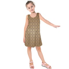 Background Seamless Repetition Kids  Sleeveless Dress