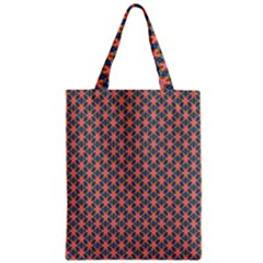 Background Pattern Texture Zipper Classic Tote Bag