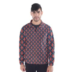 Background Pattern Texture Wind Breaker (men)