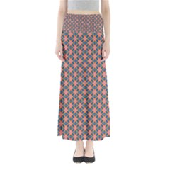 Background Pattern Texture Maxi Skirts