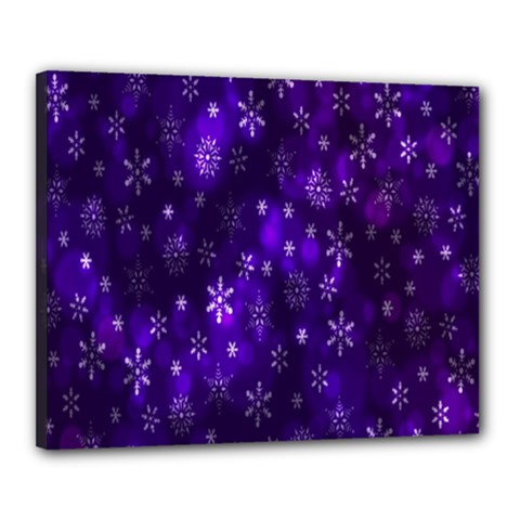 Bokeh Background Texture Stars Canvas 20  X 16