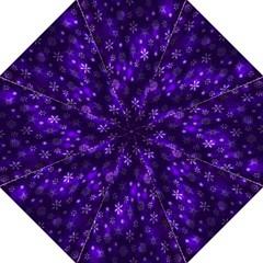 Bokeh Background Texture Stars Folding Umbrellas