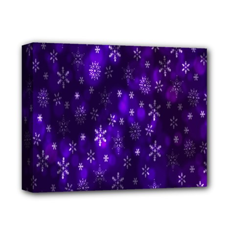 Bokeh Background Texture Stars Deluxe Canvas 14  X 11