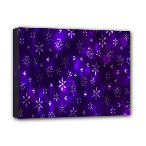 Bokeh Background Texture Stars Deluxe Canvas 16  X 12
