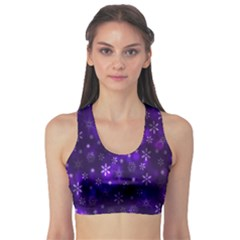 Bokeh Background Texture Stars Sports Bra