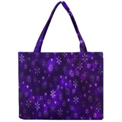 Bokeh Background Texture Stars Mini Tote Bag