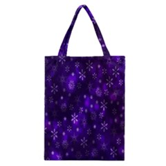 Bokeh Background Texture Stars Classic Tote Bag