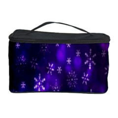 Bokeh Background Texture Stars Cosmetic Storage Case