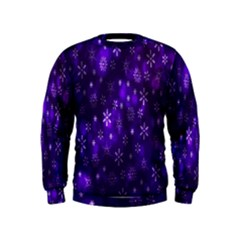 Bokeh Background Texture Stars Kids  Sweatshirt