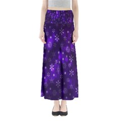 Bokeh Background Texture Stars Maxi Skirts