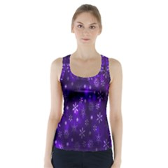 Bokeh Background Texture Stars Racer Back Sports Top