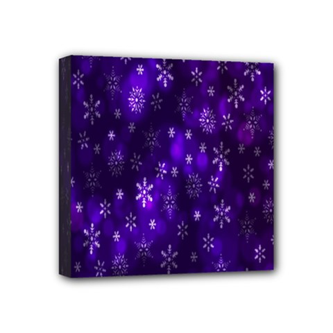 Bokeh Background Texture Stars Mini Canvas 4  X 4