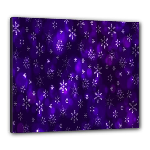 Bokeh Background Texture Stars Canvas 24  X 20