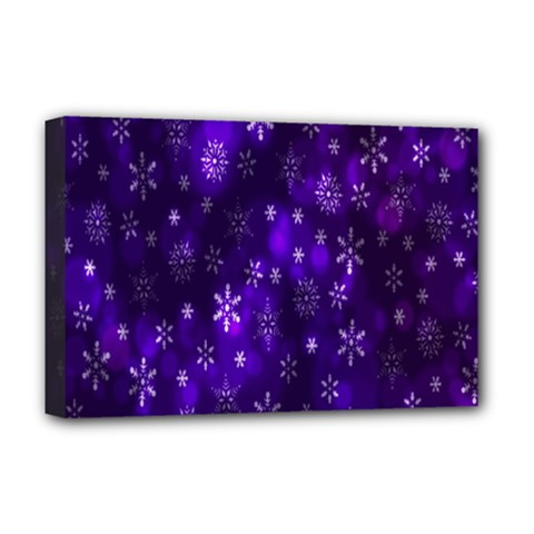 Bokeh Background Texture Stars Deluxe Canvas 18  X 12