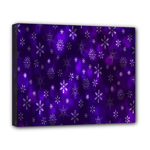 Bokeh Background Texture Stars Deluxe Canvas 20  X 16