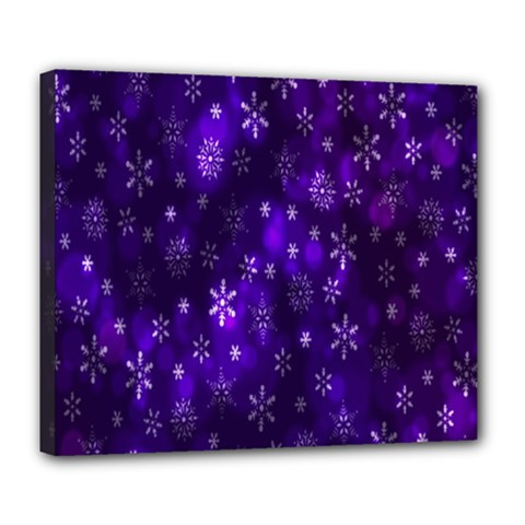 Bokeh Background Texture Stars Deluxe Canvas 24  X 20